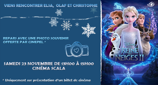 BANNER REINE DES NEIGES PHOTOBOOTH